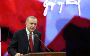 Erdogan says US sanctions a hostile stance against Turkey's sovereignty