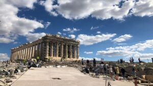 Greek Ministry of Culture Responds to Flooding on Acropolis