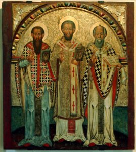 Saint Basil's Place in Greek History