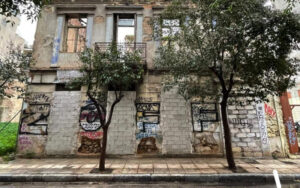 Dozens of buildings get new lease on life in Greek capital