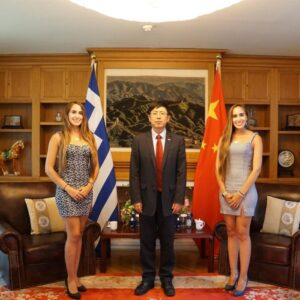 Greek Twins Become Ambassadors of Greek Tourism in China
