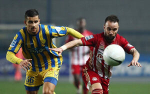Olympiakos sees its lead grow to eight points