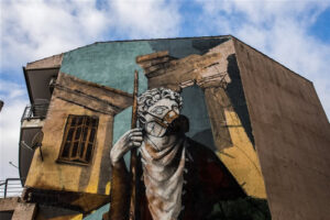 The Beautiful Graffiti Inspired by Greece's Lockdown