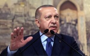 Erdogan wishes to improve testy relations with US