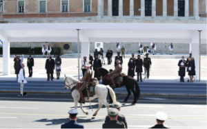Greece celebrates Independence Day with military parade