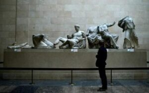 Greek culture minister challenges British PM's claims on Parthenon sculptures