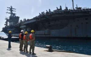 PM visiting US aircraft carrier Eisenhower in Crete on Tuesday