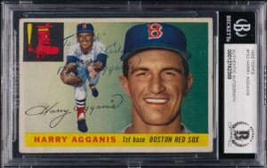 Extremely Rare Harry Agganis Baseball Card Up for Auction