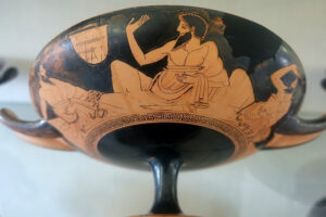 Why Did Ancient Greeks Recline to Eat and Drink?
